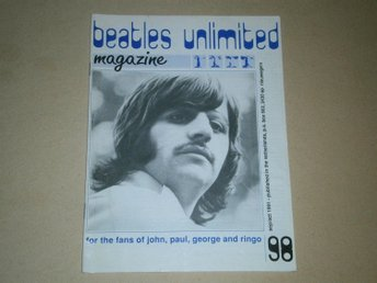 Beatles Unlimited #98 (September / Oktober 1991) - Fint Skick!