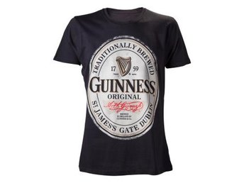 Guinness T-shirt Big Logo XL