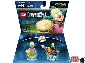 Lego Dimensions The Simpsons Krusty Fun Pack 71227 - Norrtälje - Lego Dimensions The Simpsons Krusty Fun Pack 71227 - Norrtälje