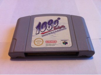 N64: 1080 (Ten Eighty) Snowboarding (Enbart kassett)