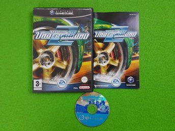 Need for speed Underground 2 ENGELSK UTGÅVA GameCube Game Cube