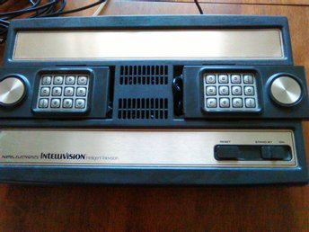 Mattel Electronics Intellivision Model No 5370 Serial No. P3048467