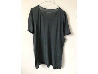 Zadig & Voltaire t-shirt tempo bis grey scull. Sz XL.