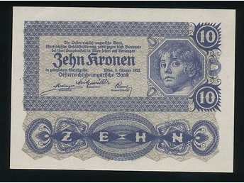 Austria 10 Kronen se Bild - Västra Frölunda - Austria 10 Kronen se Bild - Västra Frölunda