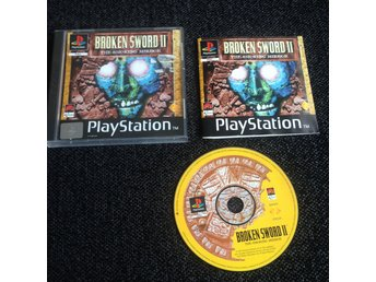 Broken Sword II 2 Playstation - ENGELSK KOMPLETT