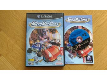 Nintendo GameCube: Micro Machines