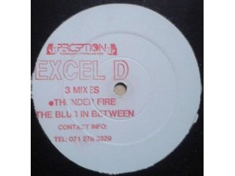 "Excel D title* Thunder Fire 3 Mixes* 90*s Techno 12"" UK"