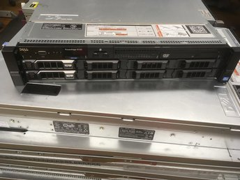 "Dell Poweredge R720 E5-2660 V2 24GB 2x146GB 8x3,5"" PERC H710P DRAC7 2xPSU"