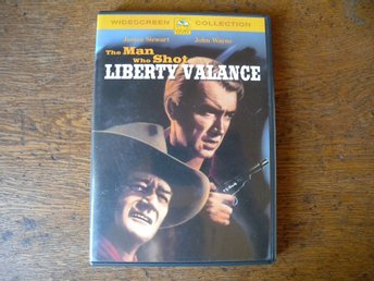 The man who shot Liberty Valance. Sv text.