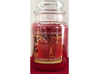 Yankee Candle. Pomegranate Cider Stor burk!