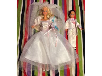Barbie Dream Wedding Med Todd 1993