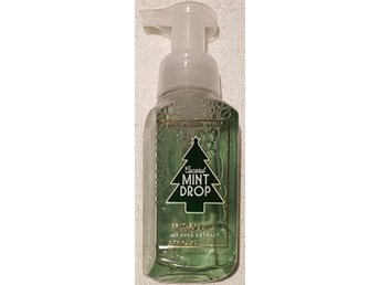 COCONUT MINT DROP Bath Body Works Gentle Foaming Hand Soap skumtvål USA vinter