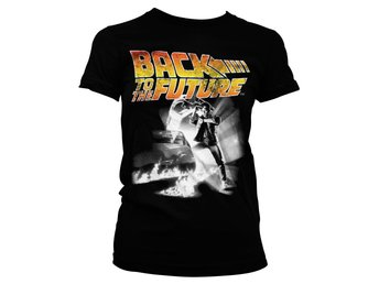 BACK TO THE FUTURE POSTER GIRLY TEE STL XL