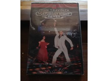 Saturday Night Fever DVD 1977 John Travolta/Inplastad/NY!