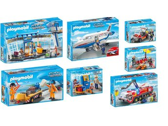 PLAYMOBIL City Action Airport Sets of 7 Complete Set, BRAND NEW