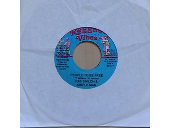 Ras Shiloh & Simple Man / Donna V  titel* People To Be Free / Press On* JAM 7""