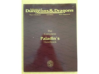 The complete paladin's handbook, en modul till Adv. Dungeons & Dragons