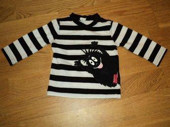 Barbapapa tröja Parvel svartvit randig stl 62/68 - älvsjö - Barbapapa tröja Parvel svartvit randig stl 62/68 - älvsjö