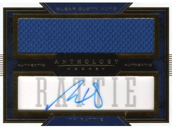 2015-16 Panini Anthology Clear Cloth Autographs #8 Ty Rattie 24/75 - Kalmar / Sweden - 2015-16 Panini Anthology Clear Cloth Autographs #8 Ty Rattie 24/75 - Kalmar / Sweden
