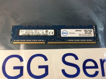 Dell 4GB DDR3 PC3L-10600E ECC UDIMM SNPR1P74C/4G