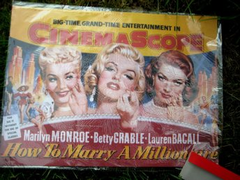 MARILYN MONROE memorabilia Hollywood retro movie film