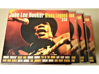 John Lee Hooker. Blues Legend 3 CD.