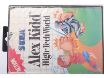 Alex Kidd In High-Tech World - Sega Master System - PAL (EU)