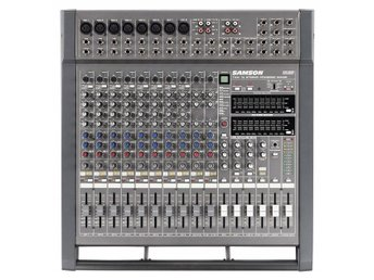 Samson TXM16 500 watts Stereo, 1000 watts bridged mono Powered Mixer