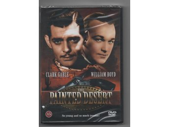 The Painted Desert (1931) NY inplastad DVD Clark Gable OOP sv/vit