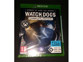 Watch dogs complete edition till Xbox one NYTT!