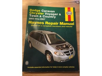 Haynes Reparationshandbok Chrysler
