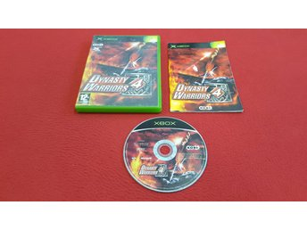 DYNASTY WARRIORS 4 till Xbox