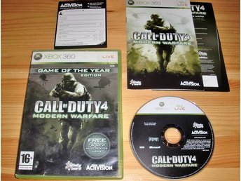 Xbox 360: Call of Duty 4 Modern Warfare