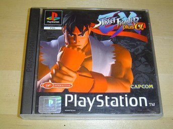 Street Fighter EX Plus Alpha Sony Playstation PAL