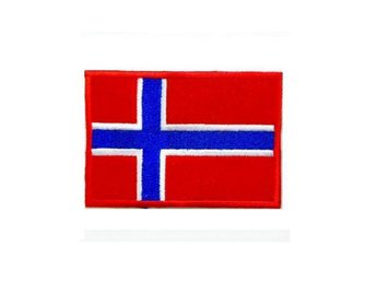 Norge Flag Medium Brodyrmärke.
