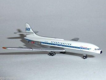 SAS Scandinavian Airlines SE-210 Caravel
