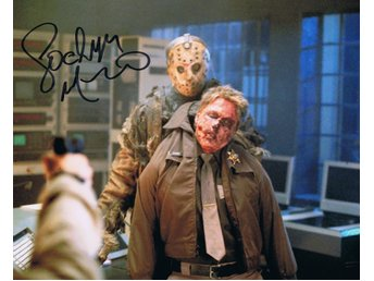 Äkta Autograf Lochlyn Munro Freddy vs Jason    COA
