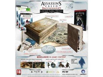 Assassins Creed Brotherhood Collectors Limited Codex Edition PS3 NY/ INPLASTAD - Stockholm - Assassins Creed Brotherhood Collectors Limited Codex Edition PS3 NY/ INPLASTAD - Stockholm