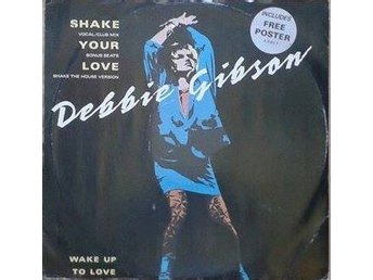 "Debbie Gibson title* Shake Your Love* House, Synth-pop 12"" UK"