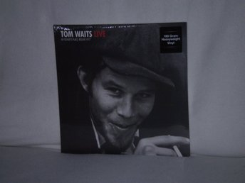 Tom Waits -  My Fathers Place Roslyn 1977     2 LP   HEAVYWEIGHT VINYL - NY