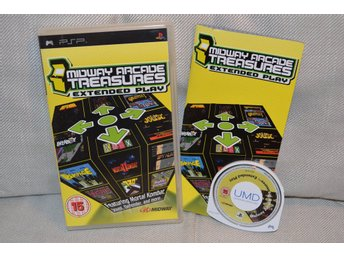 Midway Arcade Treasures: Extended Play PSP (Komplett) Fint S