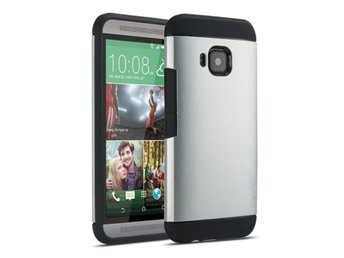 HTC One M9 Tough Skal Silver