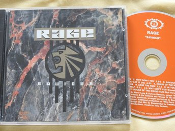 Rage - Saviour CD 1993 Electronic Euro House