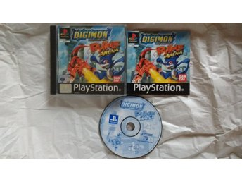 PlayStation/PS1: Digimon Rumble Arena