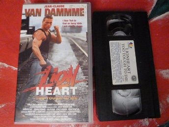 LIONHEART TOO TOUGH TO DIE, VHS, ACTION, FILM, 107 MIN.