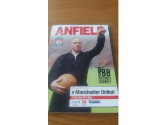 Liverpool - Manchester United Matchprogram 2013