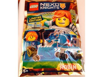 Lego - Figurer Nexo Knights Robin Limited Edition FP