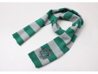 Harry potter Slytherin vinter Halsduk scarf Cosplay maskerad