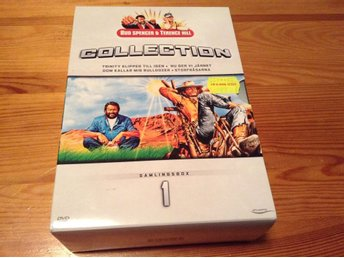 Bud Spencer & Terence Hill Collection - 2 är inplastade 2 är öppnade men repfria