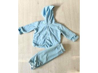 Set i fleece med jacka och byxa